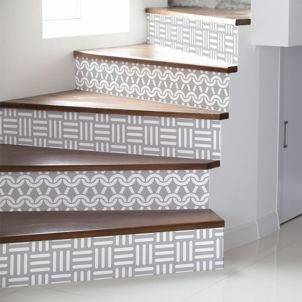Set 2 autocolante pentru scări Ambiance Karlstad, 15 x 105 cm