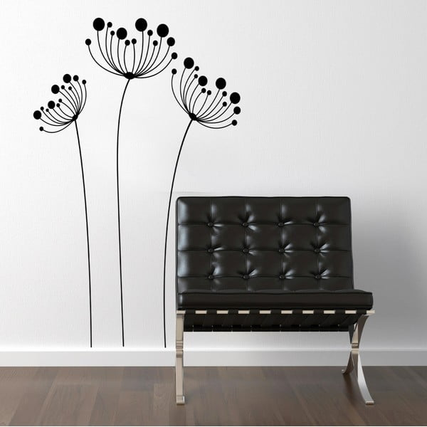 Samolepka na stěnu Rostlina, 60x90 cm