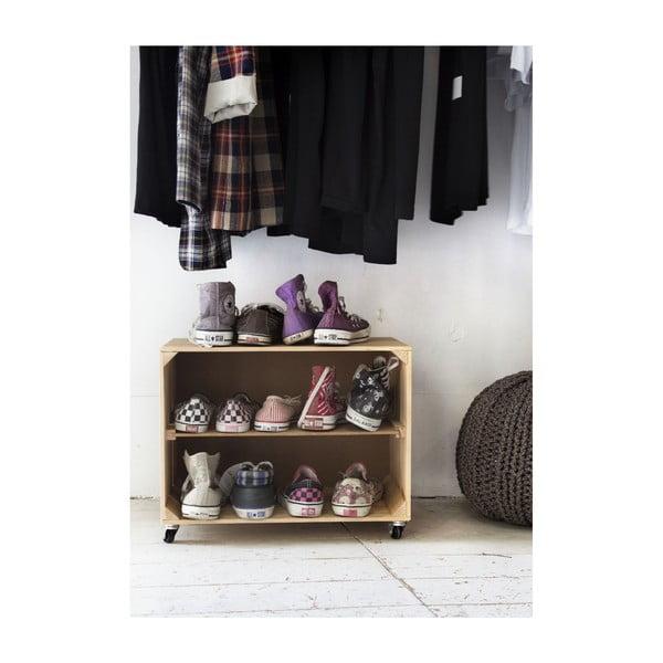 Dřevěný botník Really Nice Things Shoe