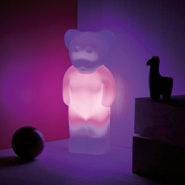 LED lampa Lumibär, bílá