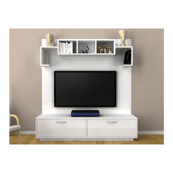 Televizní stěna Napoli White