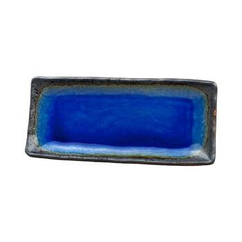 Farfurie servire din ceramică MIJ Cobalt, 29x12cm, albastru