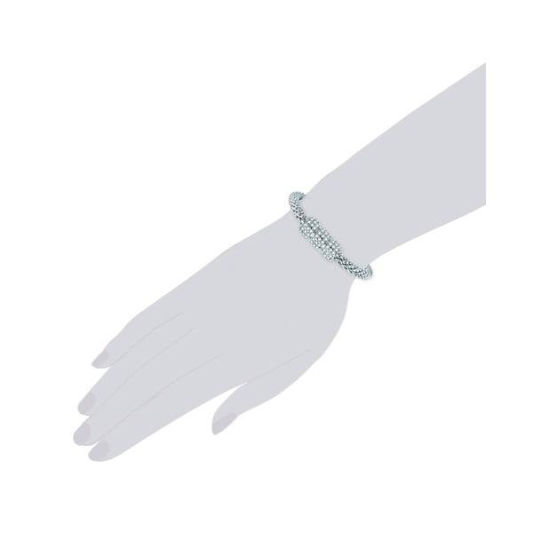 Dámský náramek stříbrné barvy Runway Penelope