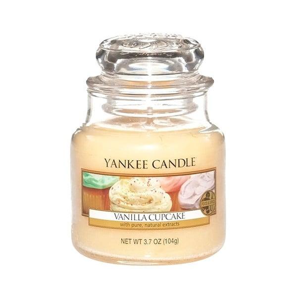 Lumânare parfumată Yankee Candle Vanilla Cupcake, timp de ardere 25 - 40 ore