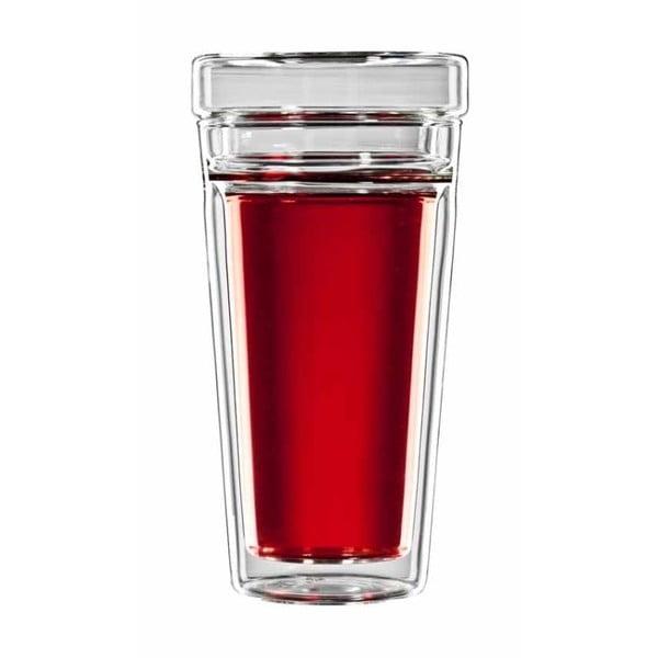 Set sklenice na čaj se sítkem bloomix