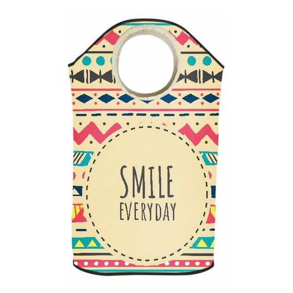 Koš na prádlo Smile Every Day