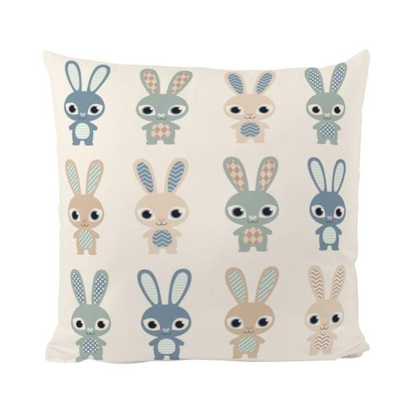 Polštář Rabbit Group, 50x50 cm
