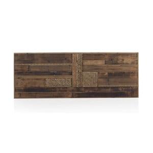 Dřevěné postelové čelo Geese Rustico, 60 x 165 cm