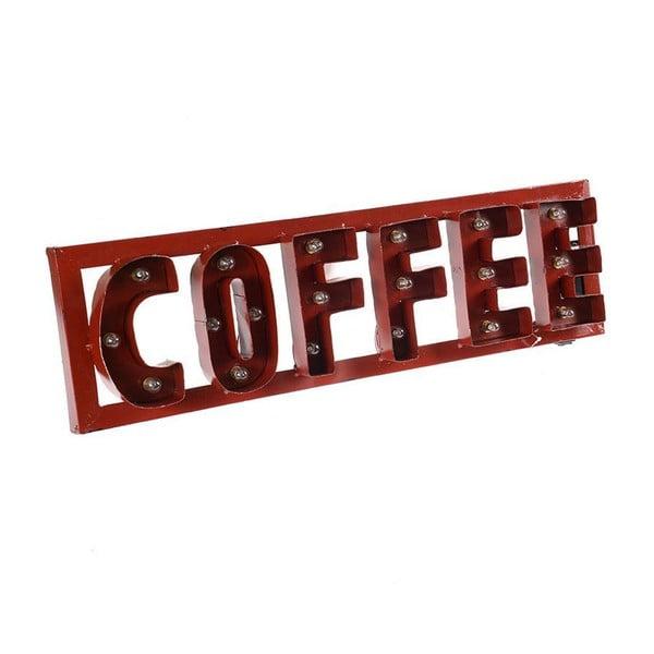 Nástěnná dekorace s LED Red Coffee