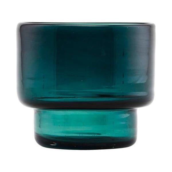 Tmavě zelený svícen na čajovou svíčku House Doctor Mute