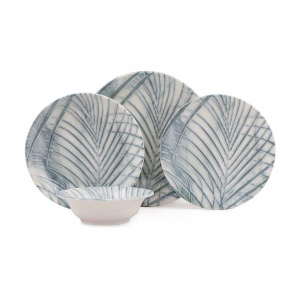 24-częściowy zestaw talerzy porcelanowych Kutahya Transo