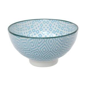 Světle modrá miska Tokyo Design Studio Geo Eclectic, 12 x 6,5 cm