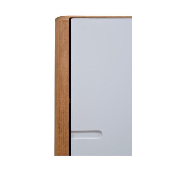 Skříňka z dubového dřeva Gazzda Ena,60x110cm