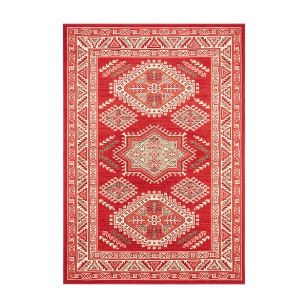 Czerwony dywan Nouristan Saricha Belutsch, 80x150 cm