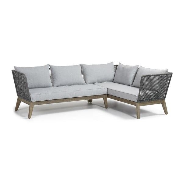 Canapea cu 3 locuri La Forma Relax, gri