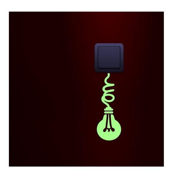 Ve tmě svíticí samolepka Ambiance Glow Lamp