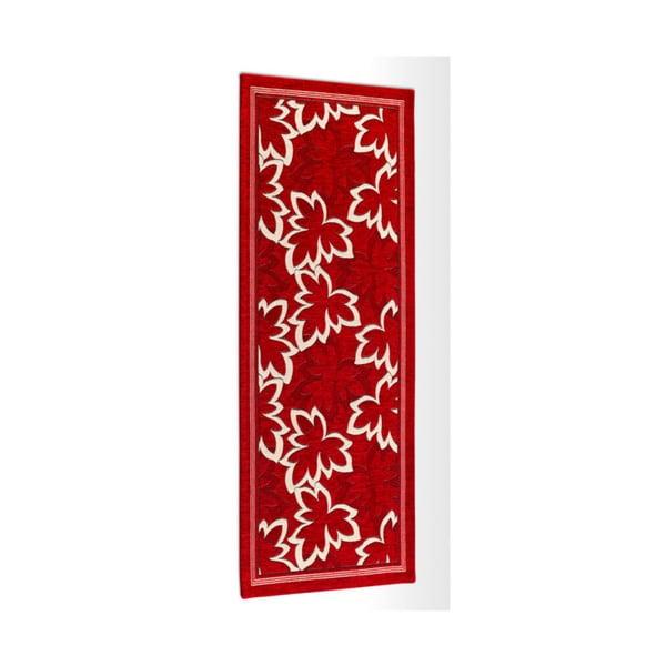 Maple Rossoe Rosso piros fokozottan ellenálló konyhai szőnyeg, 55 x 190 cm - Webtappeti