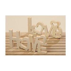 Sada 2 dekorativních nápisů Boltze Home, Love