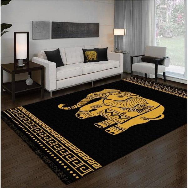 Oboustranný pratelný koberec Kate Louise Doube Sided Rug Elephant, 120 x 180 cm