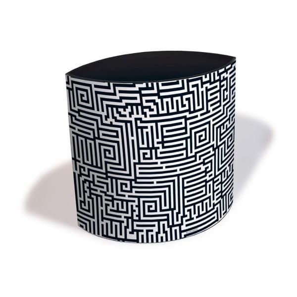 Koš na papír Labyrinth