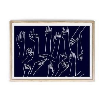 Tablou Velvet Atelier Hands, 60 x 40 cm
