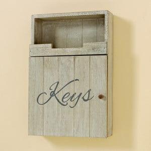 Nástěnná krabička na klíče Keys