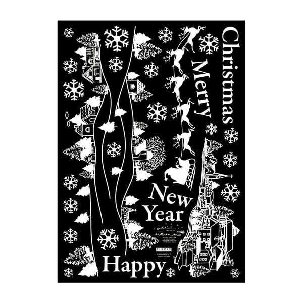 Samolepka Merry Christmas