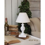 Stolní lampa White Antique, 36 cm