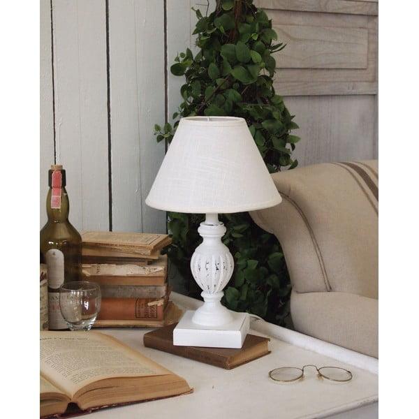 Stolní lampa White Antique, 36 cm
