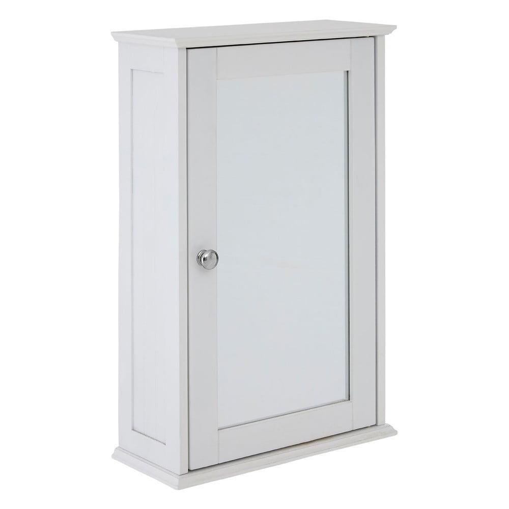 Bílá skříňka se zrcadlem Premier Housewares