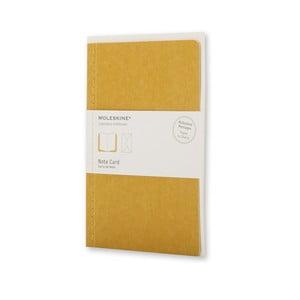 Dopisní set Moleskine Maize, zápisník + obálka