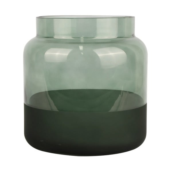 Zelená sklenená váza PT LIVING Majestic, ⌀ 15 cm