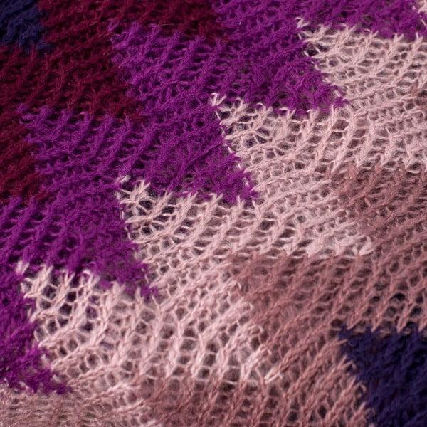 Kruhová šála Multi Purple
