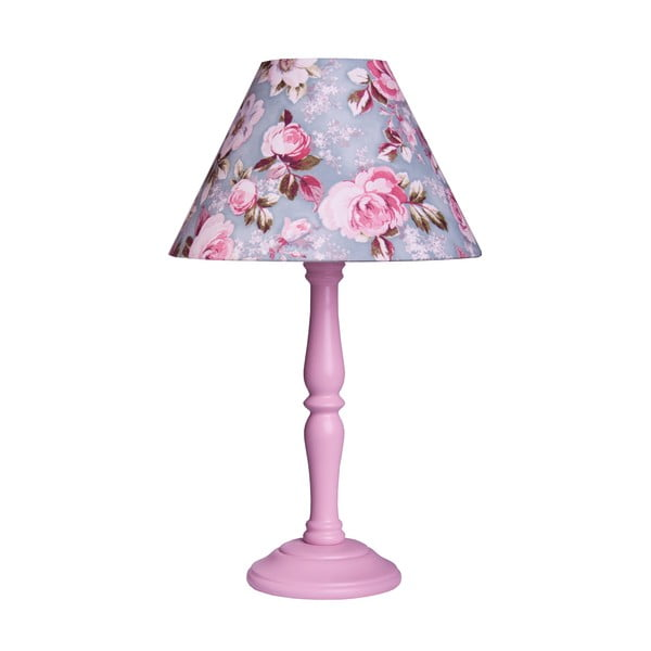 Stolní lampa Victorian Pink