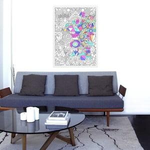 Planșă de colorat OMY Patchwork (70x100cm)
