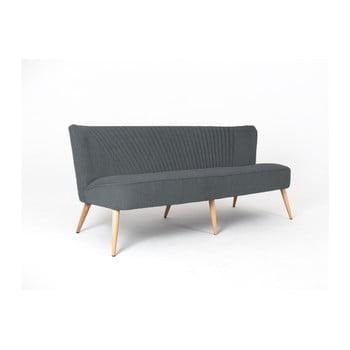 Canapea cu 3 locuri Custom Form Harry, gri