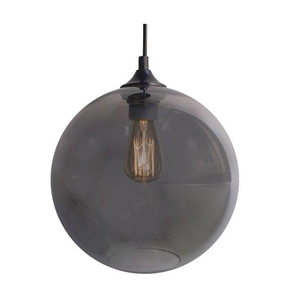 Závěsné světlo Edison, stříbrné