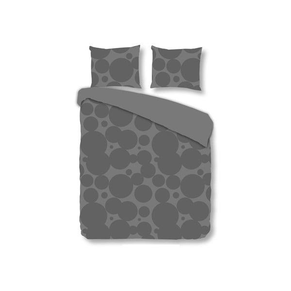Povlečení Muller Textiel Geometric Grey, 240x200 cm