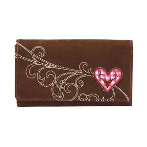 Dámská peněženka Bavaria Brown/Pink