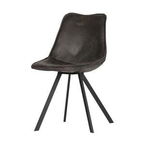 Sada 2 černých jídelních židlí WOOOD Swen