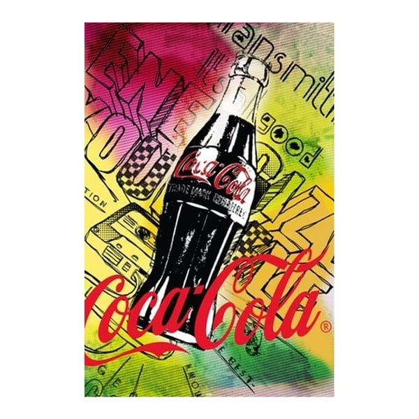 Plakát Coca Cola Colors, 61x91 cm