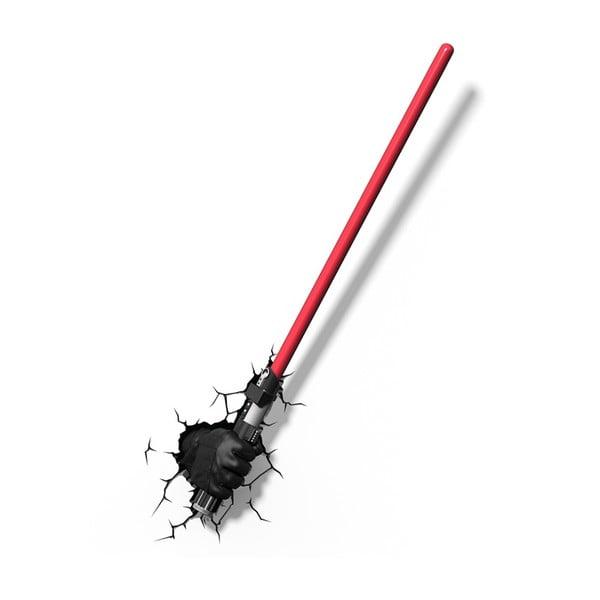 Nástěnné světlo s nálepkou Tnet Lase Darth Vader