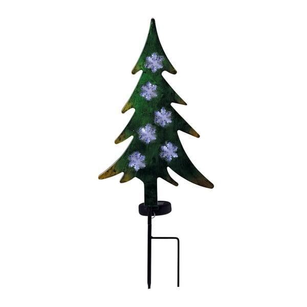 Solární venkovní svítidlo ve tvaru vánočního stromečku Naeve