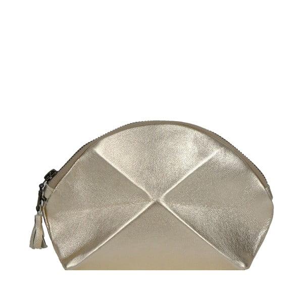 Psaníčko/kosmetická taška Pyramid, zlatá