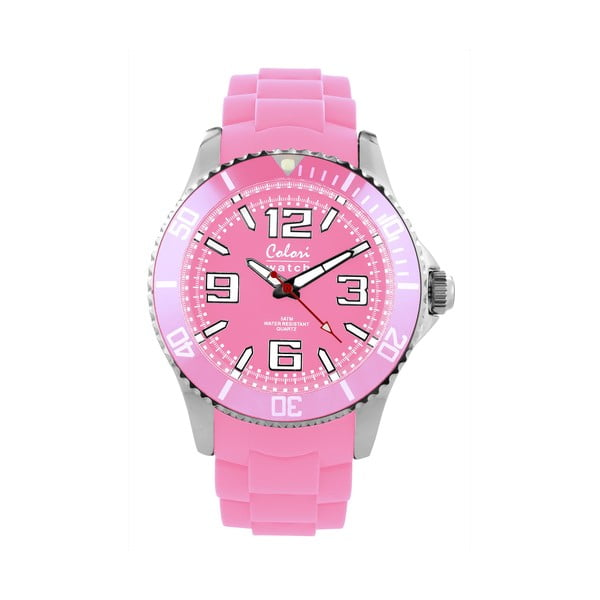 Hodinky Colori 44 Baby Pink