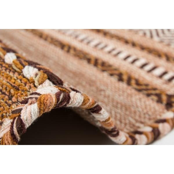 Koberec Native 325 Brown, 80x150 cm