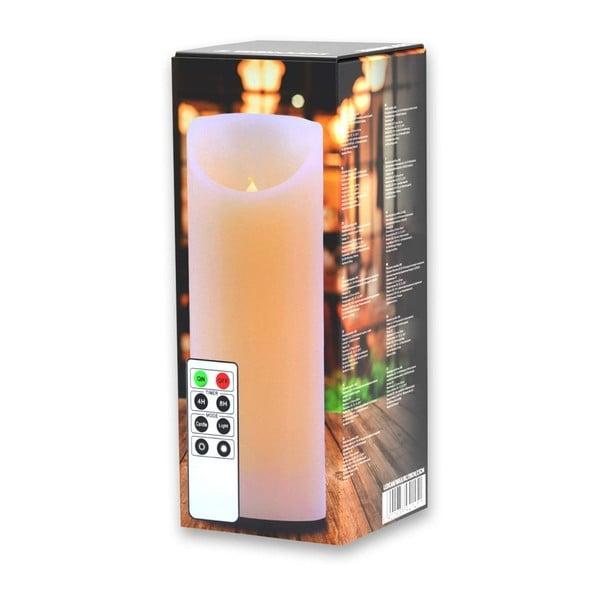 Subtle gyertya formájú lámpa távirányítóval, magasság 20 cm - DecoKing
