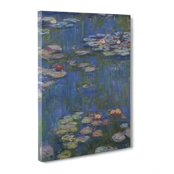 Obraz Water Lilies - Claude Monet, 50x70 cm