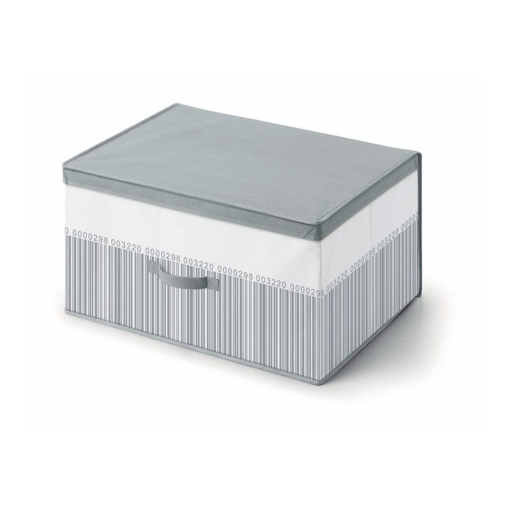 814c2f9fd Šedo-bílý úložný box pod postel Cosatto Bright, 60 x 45 cm