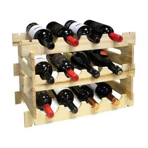 Dřevěná police na vinné lahve Vin Bouquet Wine